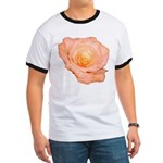 Peach Rose Ringer T