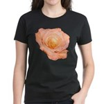Peach Rose Women's Dark T-Shirt