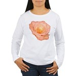 Peach Rose Women's Long Sleeve T-Shirt