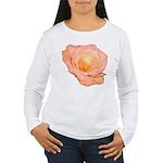 Peach Rose Women's Long Sleeve T-Shirt