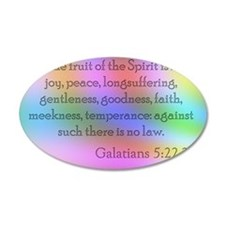 Galatians 5:22-23 Wall Decal