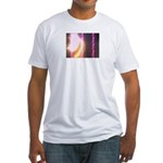Photo Soundwaves Fitted T-Shirt
