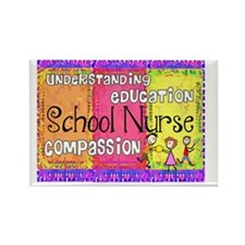 School Nurse giger Rectangle Magnet