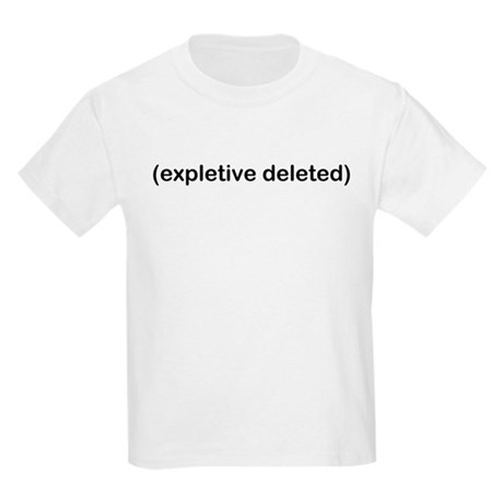 Expletive Deleted Kids T-Shirt