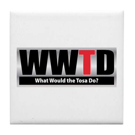 WW the Tosa D Tile Coaster