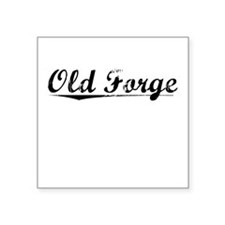 "Old Forge, Vintage Square Sticker 3"" x 3"""