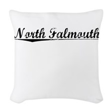 North Falmouth, Vintage Woven Throw Pillow