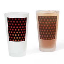 Fire Dots Drinking Glass
