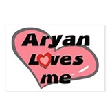 aryan loves me  Postcards (Package of 8)