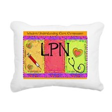 LPN Giger Rectangular Canvas Pillow