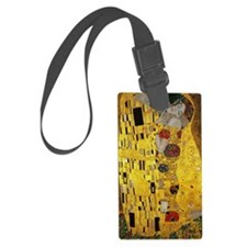 Gustav Klimt The Kiss Luggage Tag