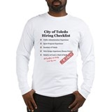 Toledo Hiring Checklist T-Shirt