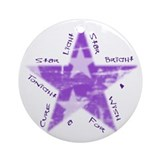 Relay For Life Ornament (Round)