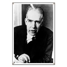 Portrait of Niels Bohr Banner