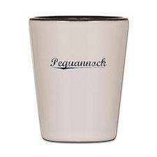 Pequannock, Vintage Shot Glass