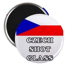 Czech Shot Glass Magnet