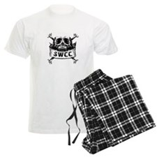 Navy SWCC Grunge Skull Shirt Pajamas