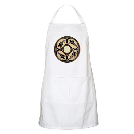 MIMBRES FOUR GRASSHOPPERS BOWL DESIGN BBQ Apron