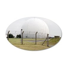 Radar tracking station Wall Sticker
