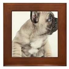Puppy obedience Framed Tile