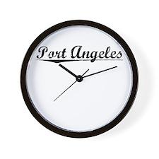 Port Angeles, Vintage Wall Clock