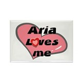 aria loves me Rectangle Magnet