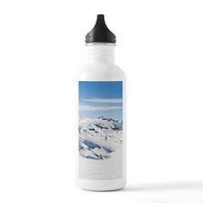 Snowy winter view of t Sports Water Bottle