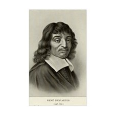 Rene Descartes, French mathema Bumper Stickers