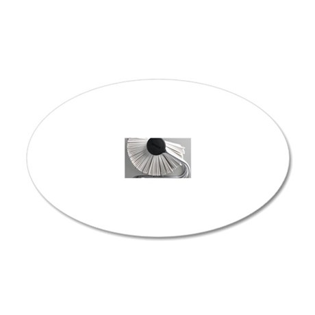 Rolodex 20x12 Oval Wall Decal