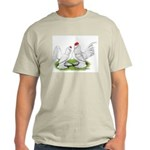 White d'Uccle Bantams Light T-Shirt