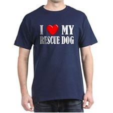 Love My Rescue Dog T-Shirt
