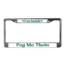 POG MO THOIN (KISS MY A**) License Plate Frame