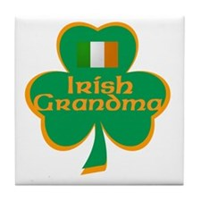Irish Grandma Tile Coaster