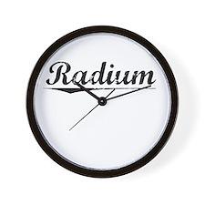Radium, Vintage Wall Clock