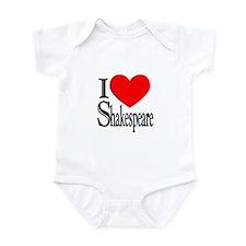 I Love Shakespeare Infant Bodysuit