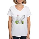Self Blue Hen Women's V-Neck T-Shirt