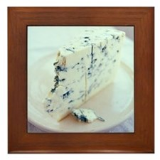 Roquefort cheese Framed Tile