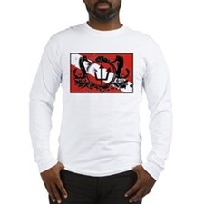 Neptunes Crown Diver Down Fla Long Sleeve T-Shirt