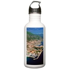 Aerial view of a city, Water Bottle