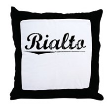 Rialto, Vintage Throw Pillow