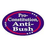 Pro-Constitution, Anti-Bush (bumper sticker)