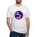 Pro-Choice, Anti-Bush (fitted t-shirt)