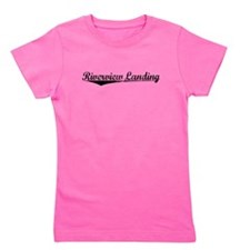 Riverview Landing, Vintage Girl's Tee