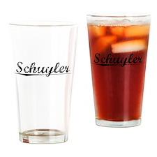 Schuyler, Vintage Drinking Glass