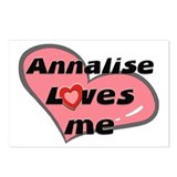 annalise loves me  Postcards (Package of 8)