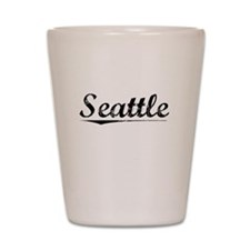 Seattle, Vintage Shot Glass