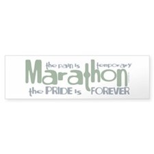 Marathon- The Pride is Forever Bumper Bumper Sticker