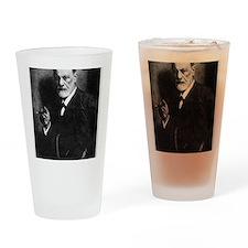 Sigmund Freud, Austrian psychologis Drinking Glass