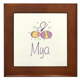Easter Eggs - Mya Framed Tile