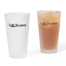 South Rosemary, Vintage Drinking Glass